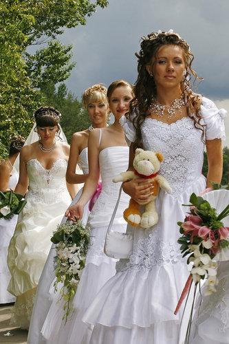 парад невест в уфе