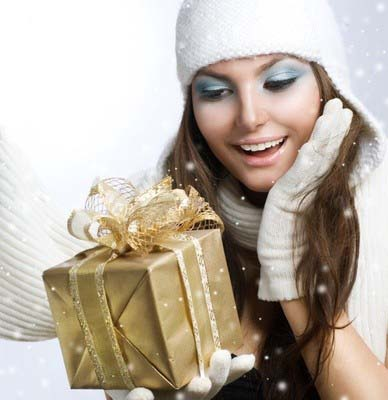 Дарим подарки на новый год