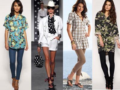 Модные и стильные рубашки для женщин