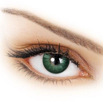 Разноцветные контактные линзы