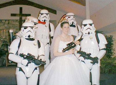 Тематическая свадьба Звездные войны