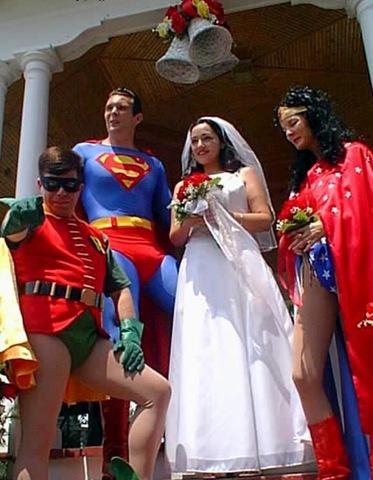 Тематическая свадьба в стиле Бетмен
