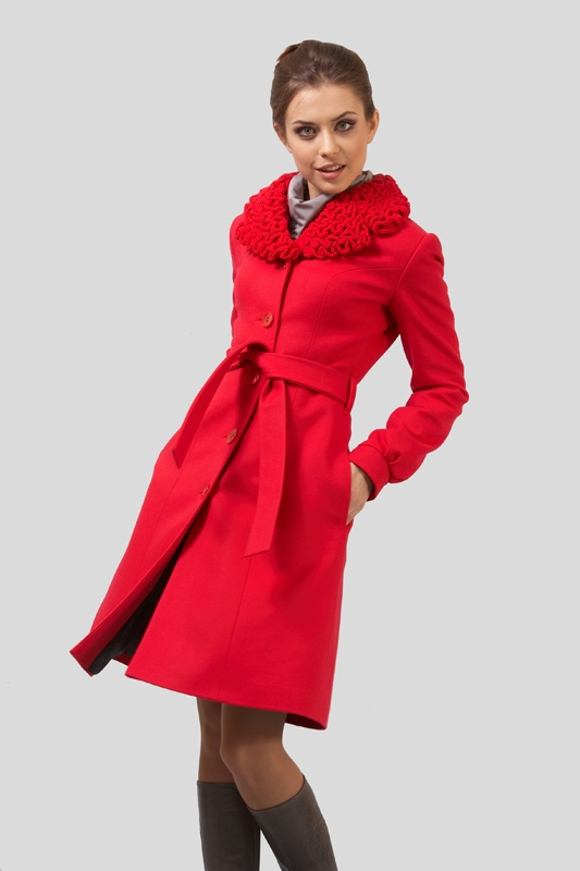 Женское пальто 2012