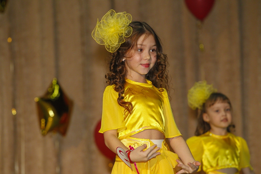 Вы просматриваете изображения у материала: Стали известны имена победительниц конкурса Мини Мисс Уфа 2017