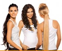 Новая система наращивания волос в салоне «Красивые люди»!